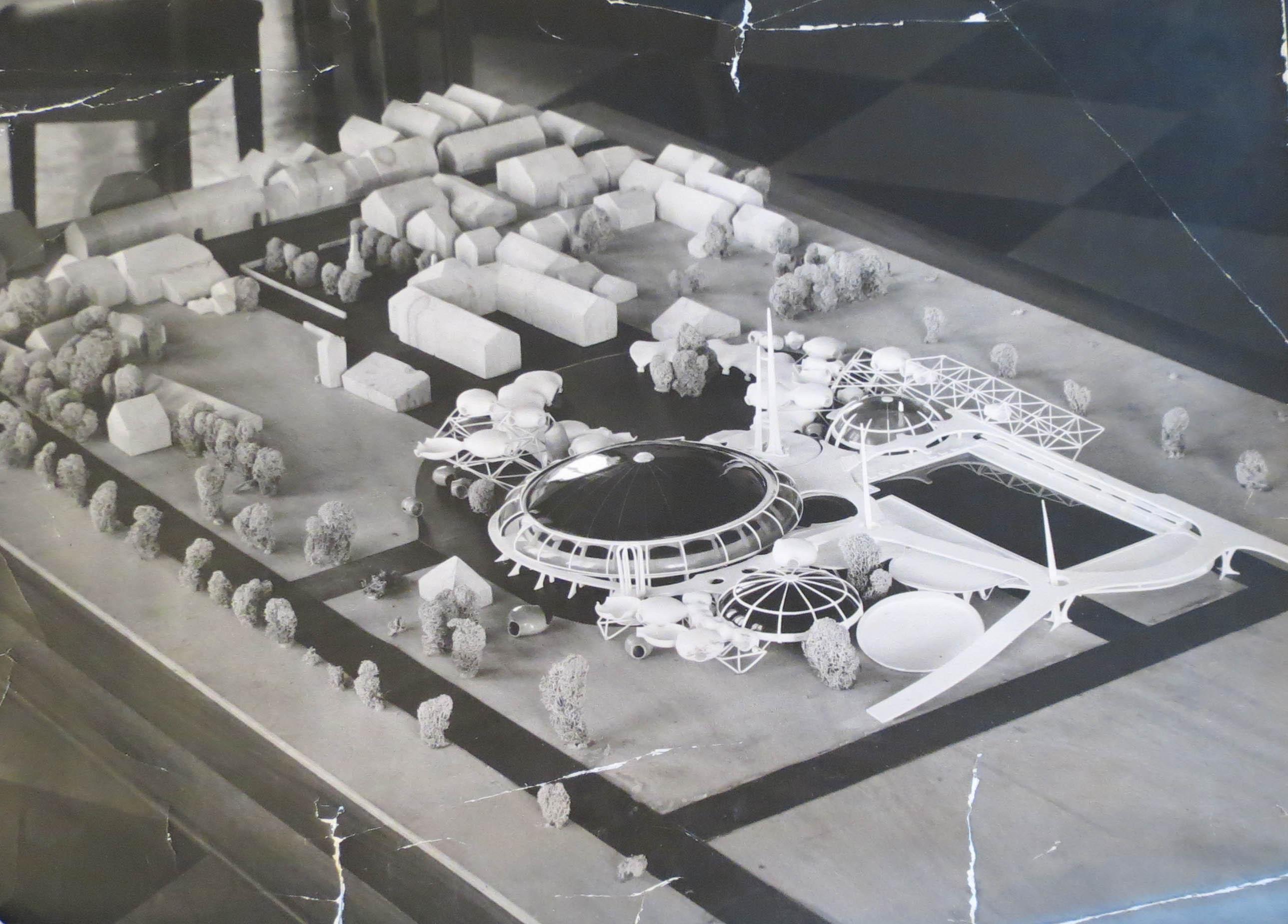 Maquette projet  1972