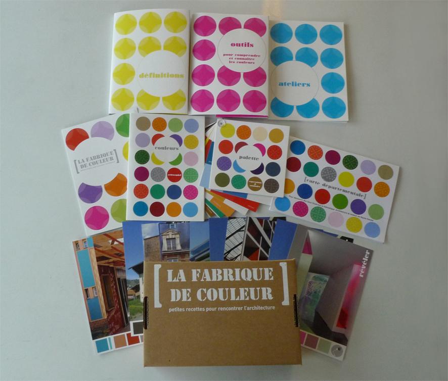 Architecture et couleur boite