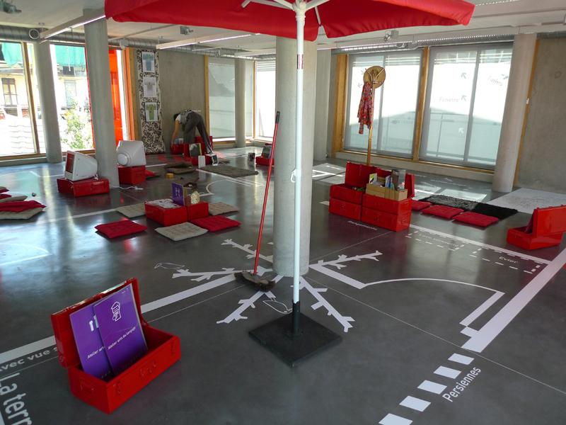 Exposition La fabrique de lumière 2009