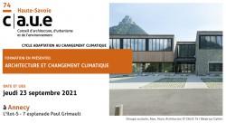 formation archi et changement climatique sept 2021
