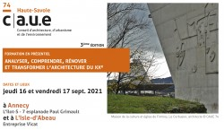 Formation archi XXe sept 2021
