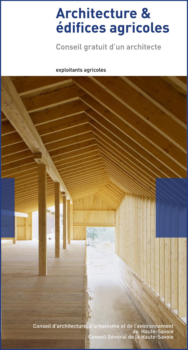 Flyer consultance archi et édifices agricoles