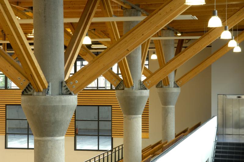 Maison des sports annemasse caue haute savoie for Architecte annemasse