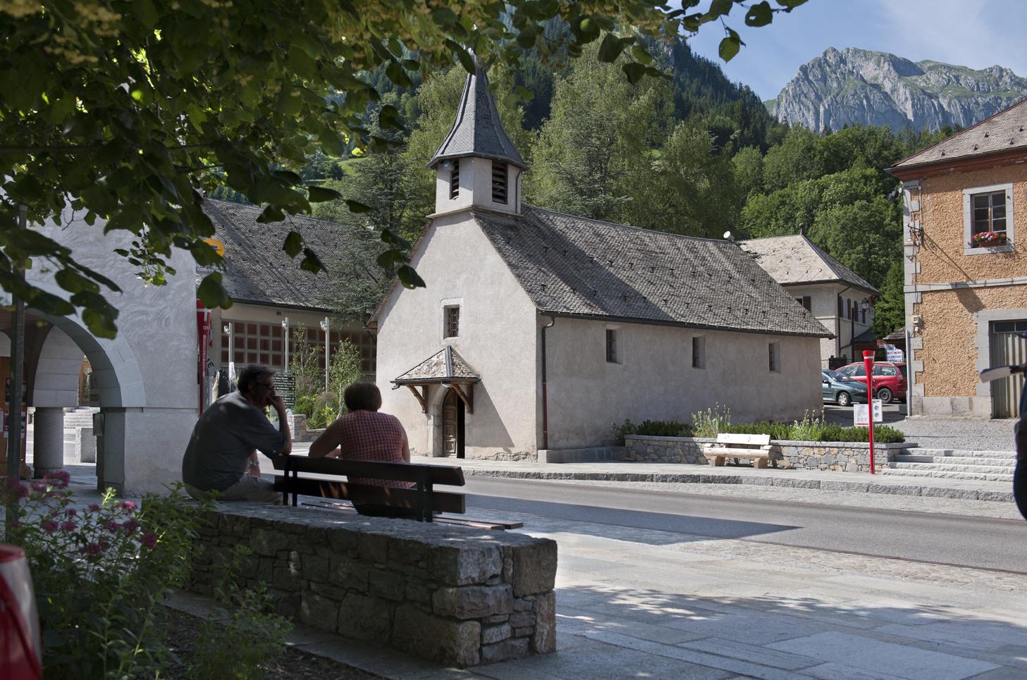 Amenagement de la traversee du village chapelle d - Office du tourisme chapelle d abondance ...
