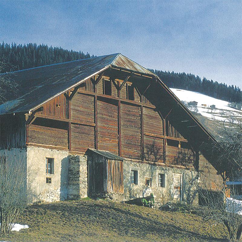 Je voulais une maison qui ressemble aux fermes de pays - Ferme a renover haute savoie ...