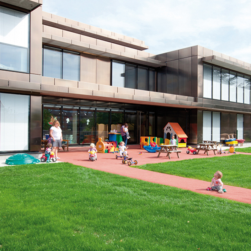 Maison Intergenerationnelle De L Enfance Et De La Famille Saint Julien En Genevois Caue 74 Conseil D Architecture D Urbanisme Et De L Environnement