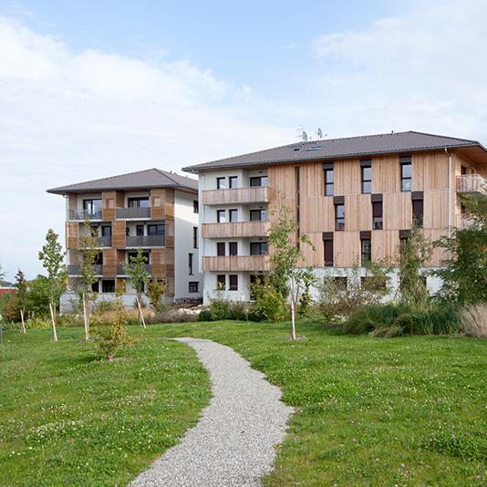 Les terrasses du jura logements participatifs viry for Haute savoie habitat